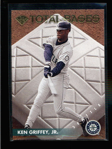 KEN GRIFFEY JR. 1996 LEAF #9 TOTAL BASES #0732/5000 AC1142