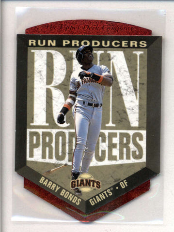 BARRY BONDS 1996 UPPER DECK #RP3 RUN PRODUCERS DIE CUT AC2553