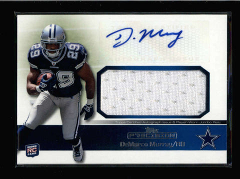 DEMARCO MURRAY 2011 TOPPS PRECISION ROOKIE USED JERSEY AUTOGRAPH AUTO AC2573