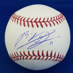 Rafael Devers Boston Red Sox Autographed Signed OML Baseball Fanatics MLB COA