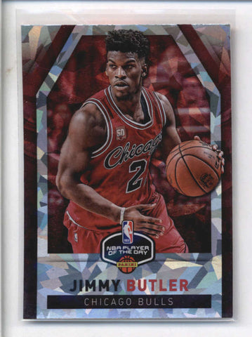 JIMMY BUTLER 2016 PANINI NBA PLAYER OF THE DAY CRACKED ICE AB9071