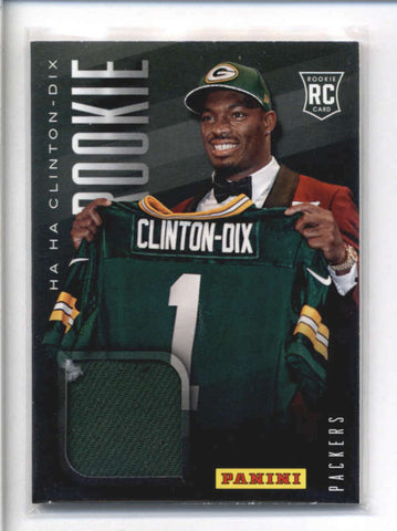 HA HA CLINTON-DIX 2014 PANINI FATHERS DAY ROOKIE RC USED WORN CAP HAT AB9004