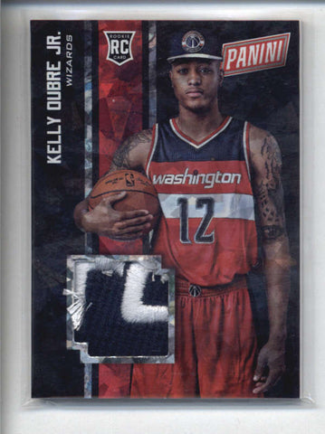 KELLY OUBRE JR. 2015 PANINI BLACK FRIDAY CRACKED ICE ROOKIE WORN HAT RC AB5980