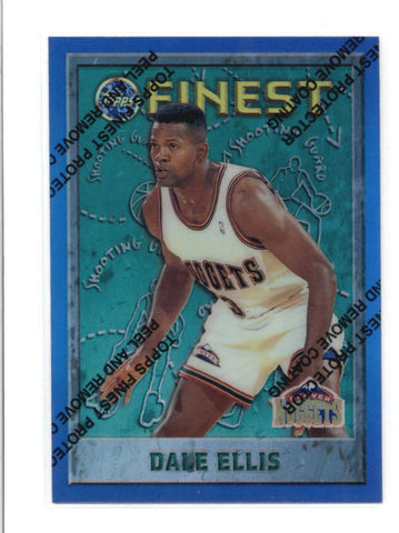 DALE ELLIS 1995/96 95/96 TOPPS FINEST #26 REFRACTOR PARALLEL AB9377