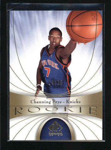 CHANNING FRYE 2005/06 05/06 SP SIGNATURE #108 GOLD ROOKIE RC #14/25 AB5091