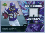 ADRIAN PETERSON 2007 07 UPPER DECK RC ROOKIE JERSEY SP