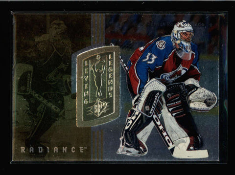 PATRICK ROY 1998/99 UPPER DECK SPX #171 RADIANCE PARALLEL #204/540 (RARE) AC2621