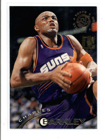 CHARLES BARKLEY 1994/95 STADIUM CLUB #13 FIRST DAY ISSUE PARALLEL AC061