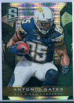 ANTONIO GATES 2013 SPECTRA 1/1 BLACK ATOMIC REFRACTOR SP/1