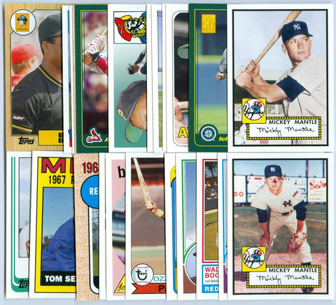 2006 TOPPS ROOKIE OF THE WEEK COMPLETE SET / MANTLE / JETER / RYAN / RIPKEN SP