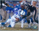 WILLIE McGINIST 8 X 10 SIGNED AUTO AUTOGRAPH LTD AUTHENTIC NEW ENGLAND PATRIOTS