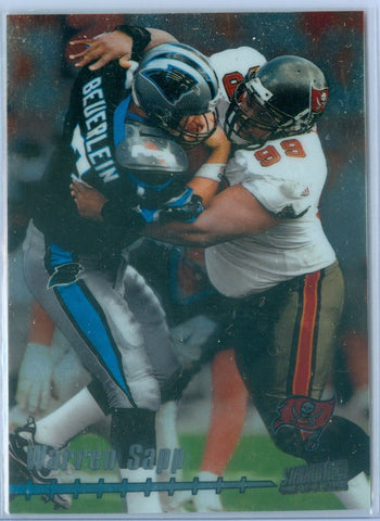 WARREN SAPP 1999 STADIUM CLUB ONE OF A KIND SP/150