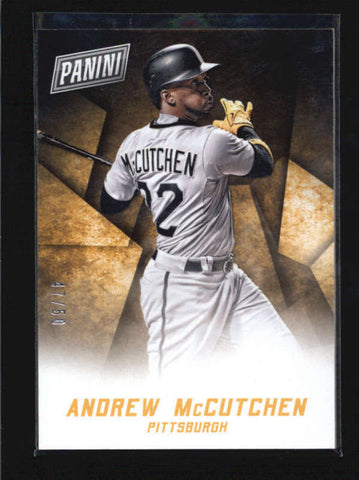 ANDREW MCCUTCHEN 2015 BLACK FRIDAY THICK STOCK PARALLEL #47/50 AB5899