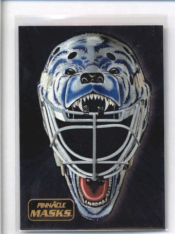 RON HEXTALL 1993/94 93/94 PINNACLE MASKS #8 AB9201