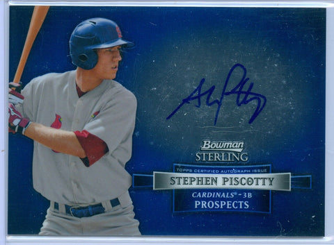 STEPHEN PISCOTTY 2012 BOWMAN STERLING RC ROOKIE AUTO AUTOGRAPH SP