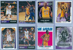(8) KOBE BRYANT 8 CARD LOT OF PANINI / TOPPS / UPPER DECK / ALL DIFFERENT