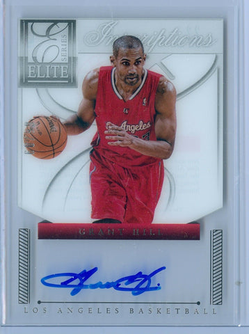 GRANT HILL 2012-13 ELITE VETERAN INSCRIPTIONS AUTO AUTOGRAPH SP/99