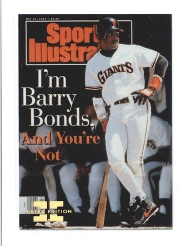 BARRY BONDS 1998 SPORTS ILLUSTRATED #169 EXTRA EDITION PARALLEL #420/500 AB9779