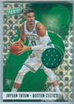 JAYSON TATUM 2018 PANINI THE NATIONAL PYRAMIDS JERSEY SP/5