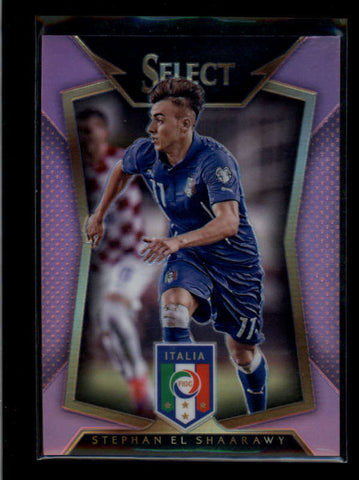 STEPHAN EL SHAARAWY 2015 SELECT NATIONAL PINK PRIZM REFRACTOR #01/20 AB7742