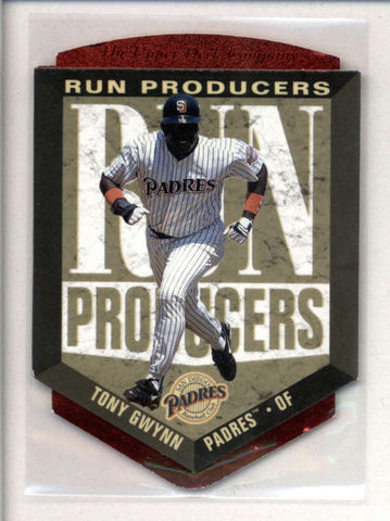TONY GWYNN 1996 UPPER DECK #RP8 RUN PRODUCERS DIE CUT AC2554
