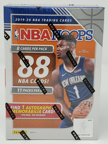2019-20 Hoops Basketball Blaster Box