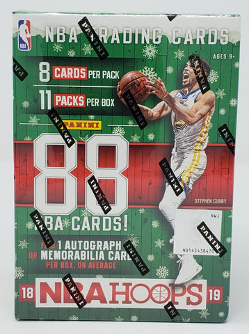 2018-19 Hoops Winter Edition Basketball Blaster Box