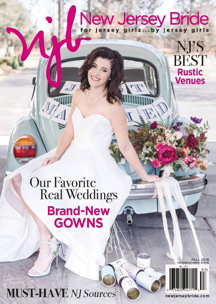 We're featured in New Jersey Bride Magazine!