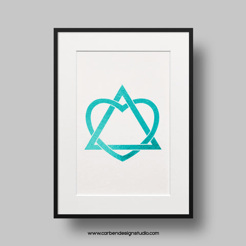 ADOPTION COLOR FOIL PRINT: Available in 6 Colors