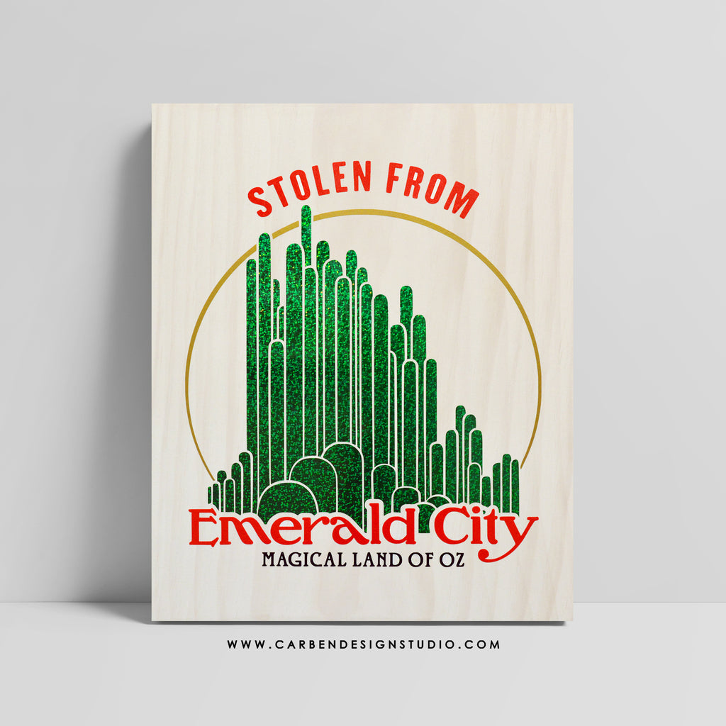 STOLEN FROM EMERALD CITY SIGN