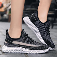 Breathable Mesh Casual Light Coconut Shoes