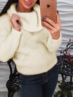 Autumn/Winter High-neck Loose Casual Sweater