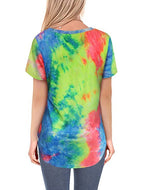 2020 New Gradient Color Short Sleeve T-shirt