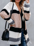 New Autumn/Winter Loose Knitted Sweater Cardigan Jacket Coat