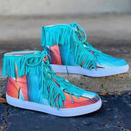 All-match High-top Canvas Shoes