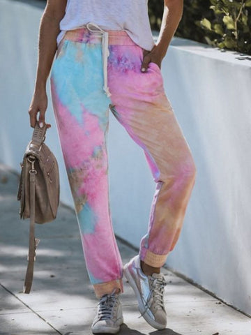 Gradient Color Tie-dye Sweatpants
