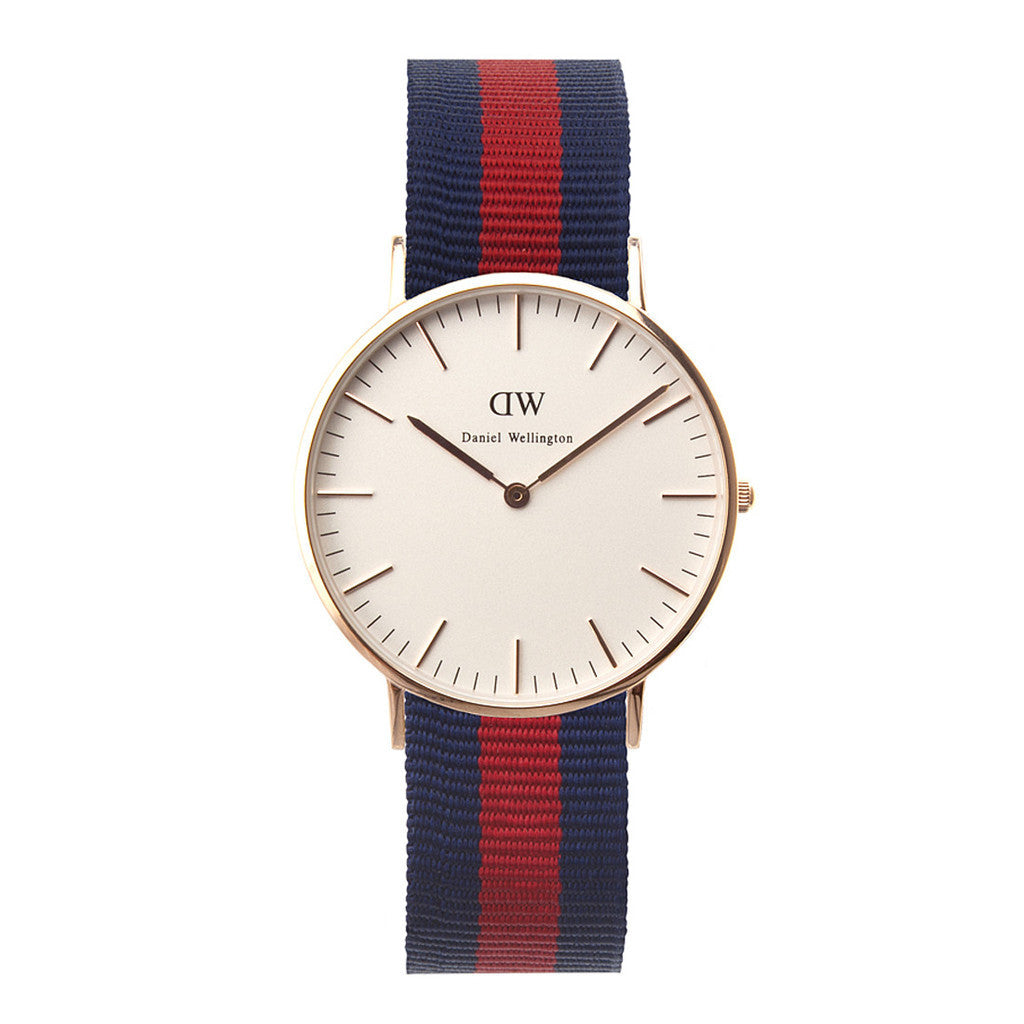 Daniel Wellington Women's 0501DW Oxford Analog Display Quartz Multi-Color Watch - Watch Aficionado 24 - 1