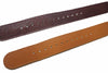 20mm Handmade Genuine Calf Leather Zulu Watch Strap - Light Brown - Watch Aficionado 24 - 5