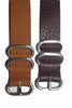 20mm Handmade Genuine Calf Leather Zulu Watch Strap - Light Brown - Watch Aficionado 24 - 6