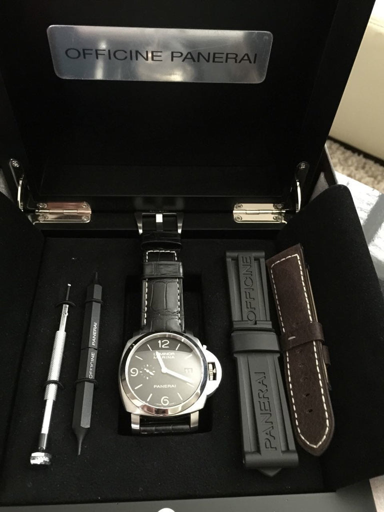 Officine Panerai PAM 312 Pre Owned O Series - Mint Condition - Watch Aficionado 24 - 1