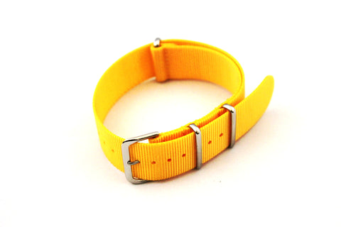 22mm NATO Strap - Yellow