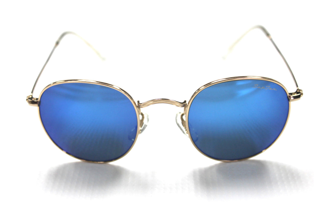 SupTar Sunglasses - Model 3447 Blue Lens - Watch Aficionado 24 - 1