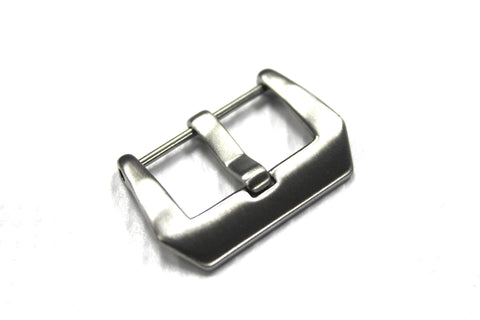 22MM Pre-V Screw in Buckle - Brush Finish