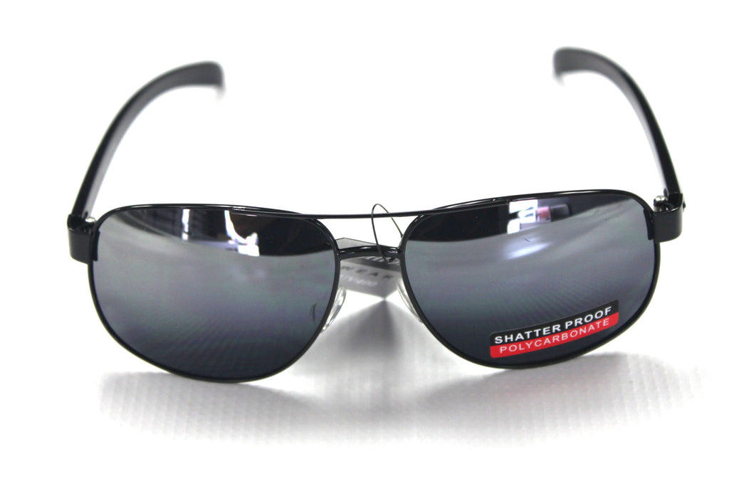 RB Aviator Style Sunglasses - #501 Black - Watch Aficionado 24