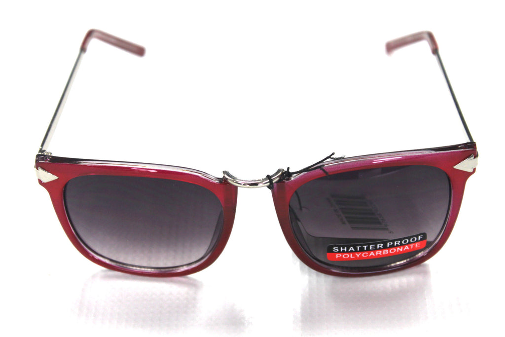 Karen Walker Style Sunglasses - #80396 Burgundy - Watch Aficionado 24