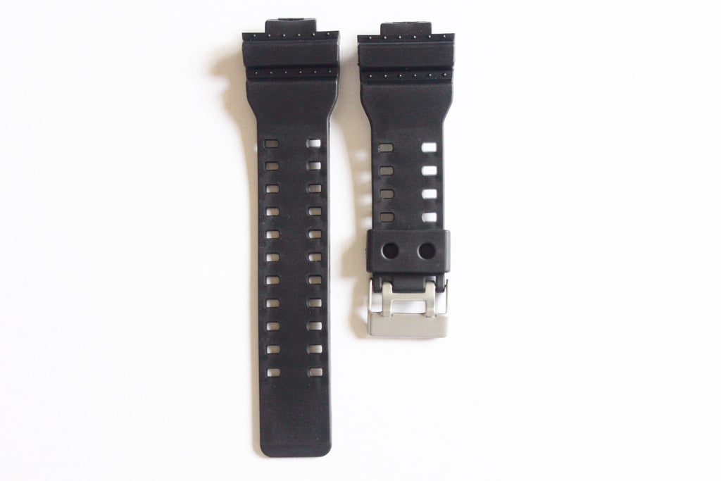 16mm Black Replacement Watch Strap For Casio G Shock Ga 100