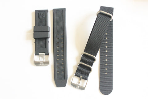 Luminox Straps Combo Deal - 23mm FP.L.ES & Luminox 22mm Black NATO Strap