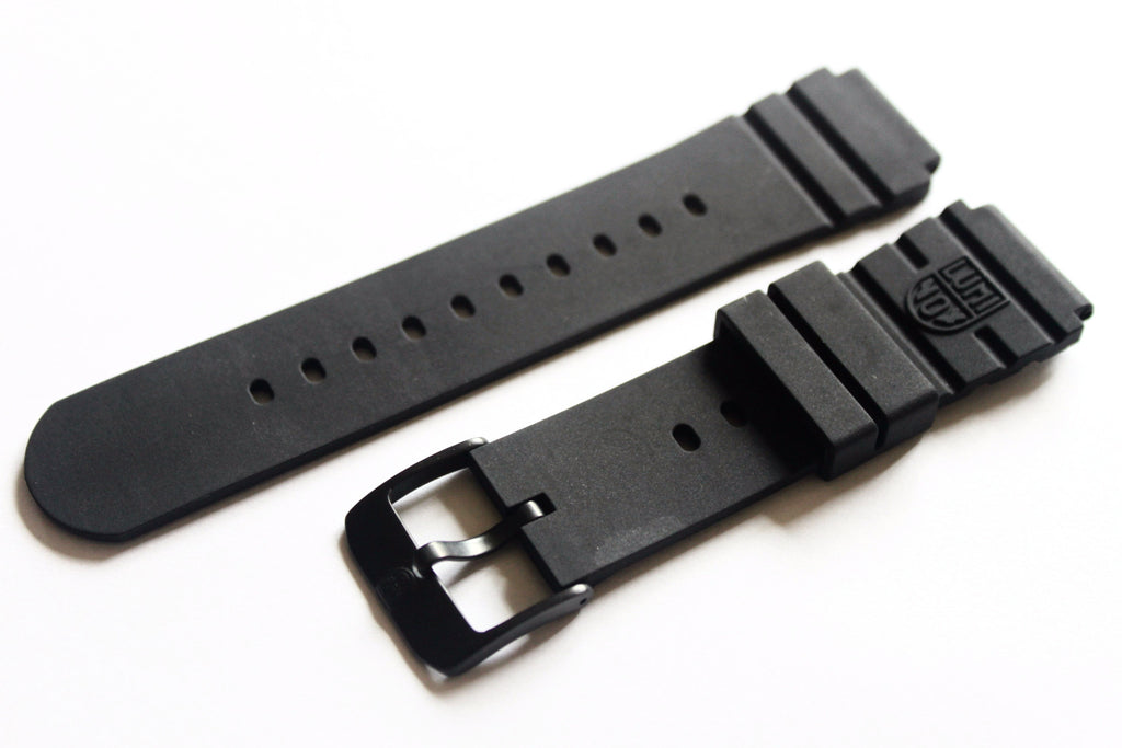 Genuine Luminox FP.L.DPB Rubber Black Out Band for NAVY SEAL - Black - Watch Aficionado 24 - 1