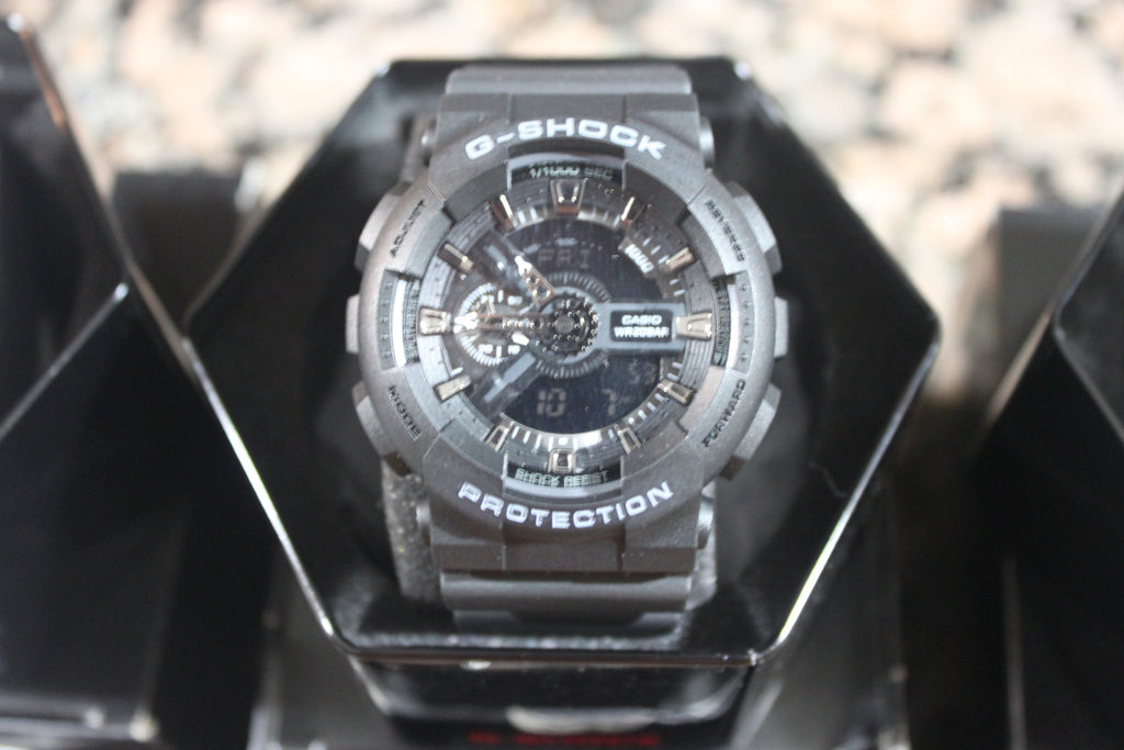 Casio G-Shock GA110 - Stealth Black - Watch Aficionado 24 - 1
