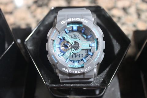 Casio G-Shock GA110 - Grey With Blue
